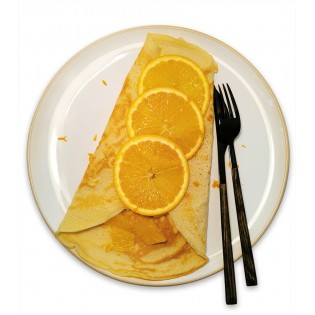 Crêpe Orange
