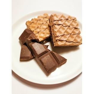 Gaufrettes Chocolat 1ere Phase