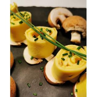 Omelette Champignons.