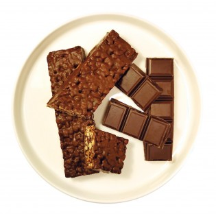 Barre chocolat Crisp.
