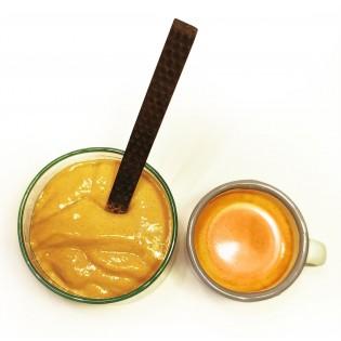 Entremet café.