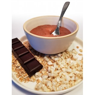 Crème céréale chocolat.