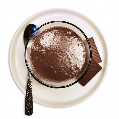 Entremet chocolat au lait.