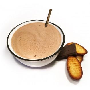 Chocolat chaud.