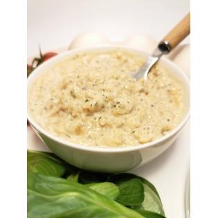 Risotto champignon fromage.