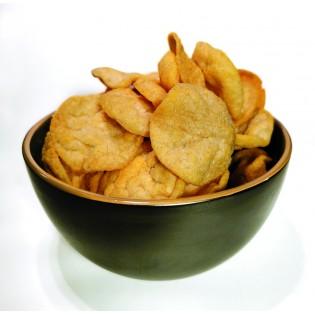Chips soja saveur BBQ.