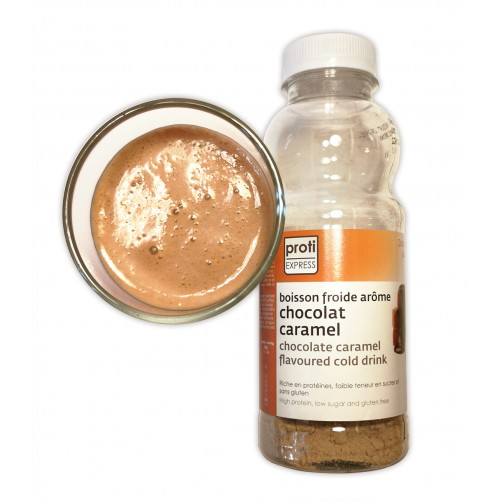 Proti' expresss Chocolat Caramel.