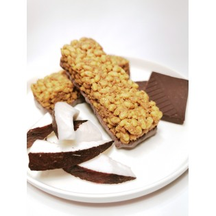 Barre croustillante Coco chocolat.