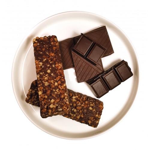 Barre croustillante chocolat.