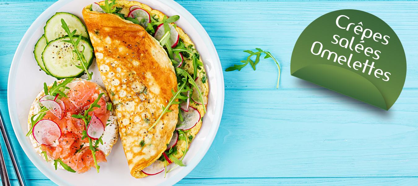 crepe sallée omelette cétodiet