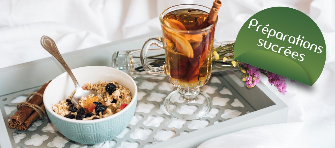 préparations sucrées Cétodiet pour régime protéiné Cétodiet